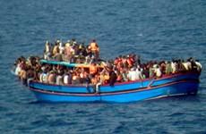 Đắm tàu chở dân di cư ngoài khơi Libya, hàng trăm người thiệt mạng