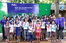 FedEx tặng 137 học bổng toàn phần cho học sinh khó khăn ở Đồng Tháp
