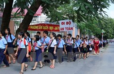Thành phố Hồ Chí Minh hưởng ứng chương trình Đi bộ An toàn