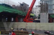 Tai nạn nghiêm trọng ở công trường đường sắt trên cao Hà Đông-Cát Linh