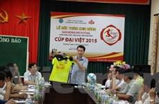 Khởi tranh giải bóng đá Futsal Thái Bình tranh cúp Đại Việt 2015