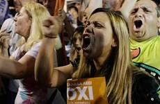 """Hơn 61% cử tri Hy Lạp nói """"Không"""" với kế hoạch khắc khổ"""