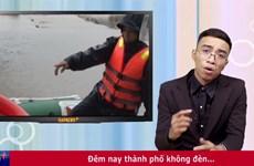 """RapNews chuyên đề 6: Chuyện mưa lũ Quảng Ninh và """"nữ thổ dân xinh đẹp"""""""