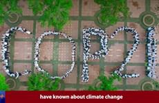 """Phiên bản tiếng Anh học sinh """"hiến kế"""" ngăn chặn biến đổi khí hậu"""