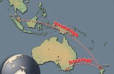 """Phi công Malaysia Airlines """"hồn nhiên"""" lái lệch đường bay"""