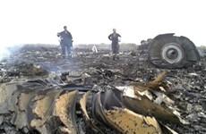 Tìm thấy máy bay Malaysia bốc cháy tại miền Đông Ukraine