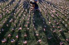 Người Mỹ tưởng niệm 13 năm xảy ra vụ khủng bố 11/9