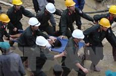 Vụ sập hầm thủy điện: Đã giải cứu thành công 12 công nhân