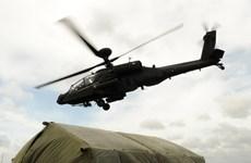 Ai Cập nhận 10 trực thăng Apache của Mỹ để chống khủng bố