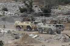 Quân đội Ai Cập trấn áp mạnh các phần tử khủng bố tại Sinai