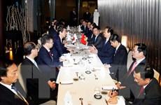 Thủ tướng Việt-Nhật bàn biện pháp triển khai thỏa thuận cấp cao