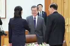 Ông Kim Jong Un mời Tổng thống Hàn Quốc sang Triều Tiên