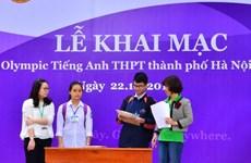 Gần 2.000 học sinh Hà Nội dự thi Olympic tiếng Anh