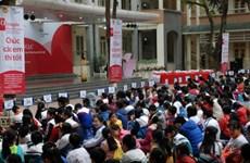 Hơn 1.000 học sinh tiểu học Hà Nội dự thi Olympic Tiếng Anh
