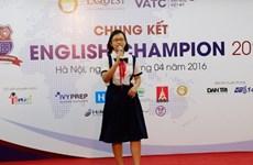 Chung kết English Champion 2016: Thí sinh hào hứng với chủ đề nóng