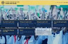 Hôm nay, Hà Nội chính thức mở cổng tuyển sinh trực tuyến lớp 1