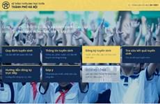 Hà Nội: Phụ huynh hào hứng với đăng ký tuyển sinh trực tuyến