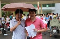 131 thí sinh bị đình chỉ trong ngày thi THPT quốc gia thứ 2