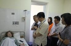 Sang Việt Nam thi Olympic Sinh học, hai thí sinh nước ngoài nhập viện