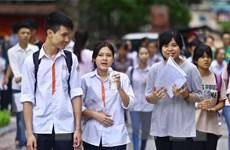 Chính thức chốt phương án thi trung học phổ thông quốc gia năm 2017