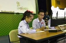 """Cuộc thi Violympic chính thức """"xuất khẩu"""" sang Lào"""