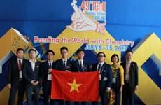 Việt Nam đạt thành tích kỷ lục tại kỳ thi Olympic Hóa học quốc tế 2017