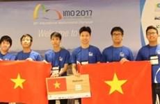 Việt Nam đạt thành tích kỷ lục trong 43 năm thi Olympic Toán quốc tế