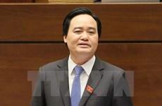 Bộ trưởng Bộ Giáo dục cam kết cải thiện chất lượng giáo viên