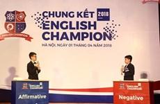 Chung kết English Champion 2018: Lần đầu tiên thi tranh biện