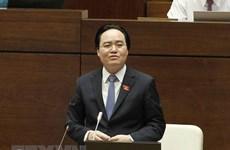 Chất vấn Bộ trưởng Bộ Giáo dục: Quốc hội bị treo máy vì quá tải