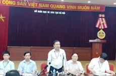 Sở Giáo dục và Đào tạo Hà Nội khẳng định không lộ đề thi Ngữ văn