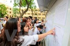 Trên 13.000 thí sinh chưa đến làm thủ tục dự thi THPT quốc gia