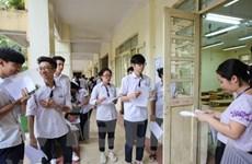 Có 8 thí sinh bị đình chỉ trong buổi thi Khoa học Tự nhiên