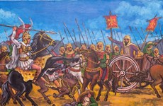 """Triển lãm tranh lịch sử """"10 trận chiến nổi tiếng thế giới"""""""
