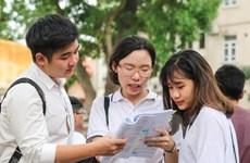 Lịch thi Trung học phổ thông trung học quốc gia 2019
