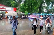 Hà Nội sẽ có mưa rào trong ngày thí sinh dự thi vào lớp 10