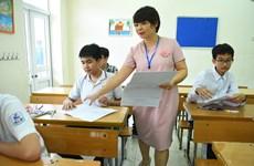 Tuyển sinh lớp 10: Nhiều thí sinh Hà Nội 'nhăn nhó' với bài hình
