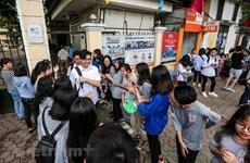 Hà Nội: Thí sinh hớn hở vì đề thi Lịch sử và Ngoại ngữ không khó