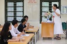 Thi THPT quốc gia: 10 thí sinh bị đình chỉ bài thi Khoa học Tự nhiên