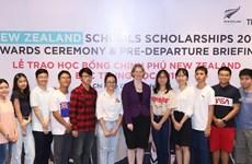 Trao học bổng Chính phủ New Zealand cho 20 học sinh Việt Nam
