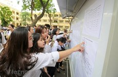 Bộ Giáo dục và Đào tạo công bố điểm thi THPT quốc gia vào sáng 14/7