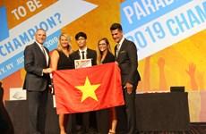 Sinh viên Việt đoạt huy chương thi Vô địch Tin học văn phòng thế giới