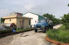 Các trường học Hà Nội gấp rút đổi nguồn nước nấu ăn bán trú