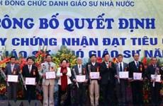 Năm 2019, Việt Nam sẽ có thêm 441 giáo sư, phó giáo sư mới?