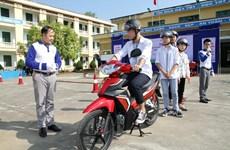Tập huấn kỹ năng lái xe an toàn cho học sinh miền núi