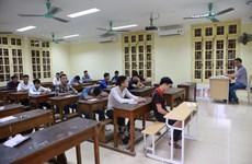 Thống nhất sử dụng phần mềm thi Tốt nghiệp THPT của Bộ Giáo dục