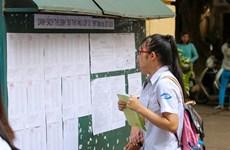 Hà Nội công bố điểm chuẩn tuyển bổ sung chỉ tiêu lớp 10 cho 35 trường