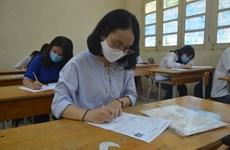Đề thi chính thức môn Toán kỳ thi Tốt nghiệp Trung học phổ thông 2020