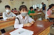 Bài thi tổ hợp nhẹ nhàng, thí sinh tự tin bước vào môn thi cuối