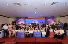 Học sinh Việt Nam 'hiến kế' thúc đẩy quan hệ hợp tác Việt Nam-Hoa Kỳ